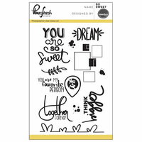 Pinkfresh Studio - Clear Photopolymer Stamps - So Sweet