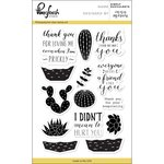 Pinkfresh Studio - Clear Acrylic Stamps - Simply Succulents