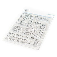 Pinkfresh Studio - Clear Photopolymer Stamps - Falling For You