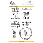 Pinkfresh Studio - Clear Acrylic Stamps - Yes God