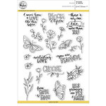 Pinkfresh Studio - Clear Acrylic Stamps - Bloom and Grow