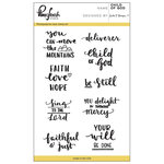 Pinkfresh Studio - Clear Acrylic Stamps - Child of God