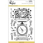 Pinkfresh Studio - Clear Photopolymer Stamps - Love Scale