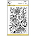 Pinkfresh Studio - Clear Photopolymer Stamps - Floral Background