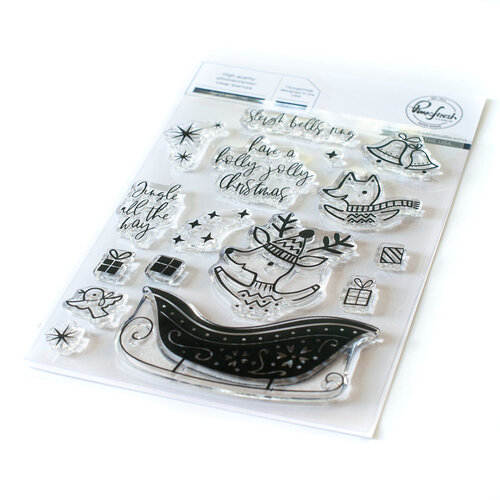 Pinkfresh Studio - Clear Photopolymer Stamps - Christmas - Sleigh Bells Ring