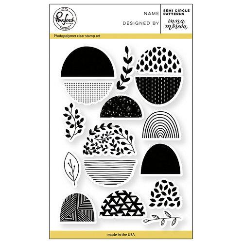 Pinkfresh Studio - Clear Photopolymer Stamps - Semi Circle