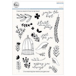 Pinkfresh Studio - Clear Acrylic Stamps - Aviary