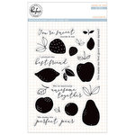 Pinkfresh Studio - Clear Acrylic Stamps - Fruitastic