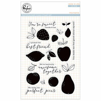 Pinkfresh Studio - Clear Photopolymer Stamps - Fruitastic