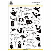 Pinkfresh Studio - Clear Photopolymer Stamps - Playful Animal Friends - 1