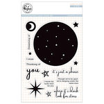 Pinkfresh Studio - Clear Acrylic Stamps - Constellation