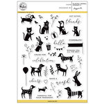 Pinkfresh Studio - Clear Photopolymer Stamps - Playful Animal Friends - 2