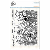 Pinkfresh Studio - Clear Photopolymer Stamps - Springfield