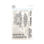 Pinkfresh Studio - Clear Acrylic Stamps - Bloom