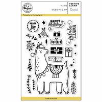 Pinkfresh Studio - Christmas - Clear Photopolymer Stamps - Festive Llama