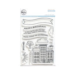 Pinkfresh Studio - Clear Acrylic Stamps - A Day in the City