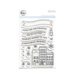 Pinkfresh Studio - Christmas - Clear Acrylic Stamps - Home for the Holidays