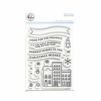 Pinkfresh Studio - Christmas - Clear Photopolymer Stamps - Home for the Holidays