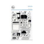 Pinkfresh Studio - Clear Acrylic Stamps - Train Ride