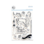 Pinkfresh Studio - Clear Photopolymer Stamps - Magical Christmas
