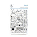 Pinkfresh Studio - Christmas - Clear Acrylic Stamps - Merry and Bright Toy Shop