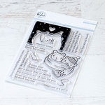 Pinkfresh Studio - Clear Photopolymer Stamps - Happy Hugs