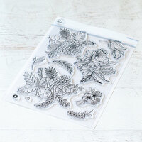Pinkfresh Studio - Clear Photopolymer Stamps - Fancy Blooms