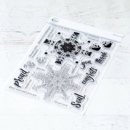 Pinkfresh Studio - Clear Photopolymer Stamps - Folk Mandala