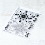 Pinkfresh Studio - Clear Photopolymer Stamps - Folk Mandala