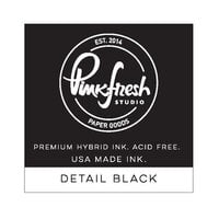 Pinkfresh Studio - Hybrid Ink Cube - Detail Black