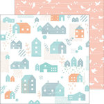 Pinkfresh Studio - Felicity Collection - 12 x 12 Double Sided Paper - Lovely Home