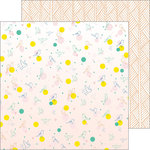 Pinkfresh Studio - Dream On Collection - 12 x 12 Double Sided Paper - Delight