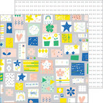 Pinkfresh Studio - Dream On Collection - 12 x 12 Double Sided Paper - Fancy