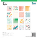 Pinkfresh Studio - Let Your Heart Decide Collection - 12 x 12 Paper Pack
