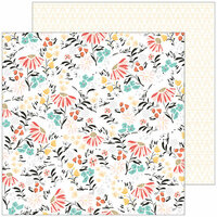 Pinkfresh Studio - Let Your Heart Decide Collection - 12 x 12 Double Sided Paper - Impulse