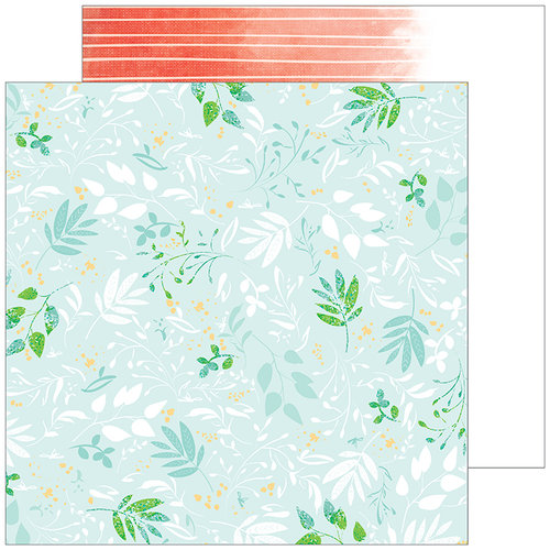 Pinkfresh Studio - Let Your Heart Decide Collection - 12 x 12 Double Sided Paper - Instinct