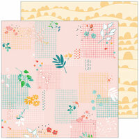 Pinkfresh Studio - Let Your Heart Decide Collection - 12 x 12 Double Sided Paper - Whim
