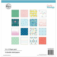 Pinkfresh Studio - Everyday Musings Collection - 12 x 12 Paper Pack