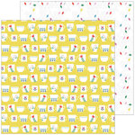 Pinkfresh Studio - Everyday Musings Collection - 12 x 12 Double Sided Paper - Full of Joy