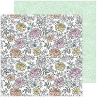 Pinkfresh Studio - My Favorite Story Collection - 12 X 12 Double Sided Paper - Bloom And Grow