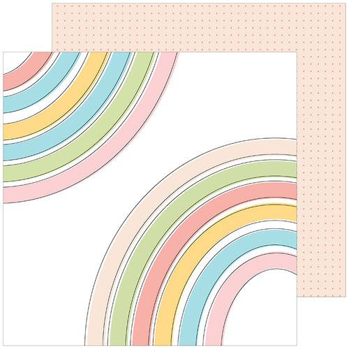 Pinkfresh Studio - My Favorite Story Collection - 12 X 12 Double Sided Paper - Joyful Heart