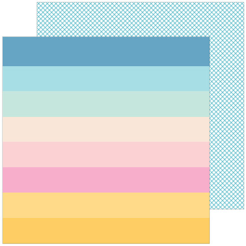 Pinkfresh Studio - My Favorite Story Collection - 12 X 12 Double Sided Paper - Looking For Sunshine