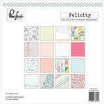Pinkfresh Studio - Felicity Collection - 6 x 6 Paper Pack