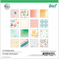 Pinkfresh Studio - Let Your Heart Decide Collection - 6 x 6 Paper Pack