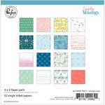 Pinkfresh Studio - Everyday Musings Collection - 6 x 6 Paper Pack