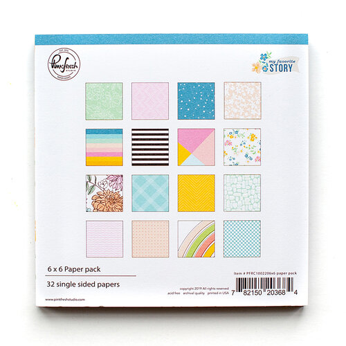 Pinkfresh Studio - My Favorite Story Collection - 6 x 6 Collection Paper Pack
