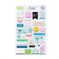 Pinkfresh Studio - My Favorite Story Collection - Puffy Stickers