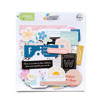 Pinkfresh Studio - My Favorite Story Collection - Embellishments - Ephemera Pack