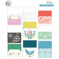 Pinkfresh Studio - Everyday Musings Collection - Journaling Pockets with Foil Accents
