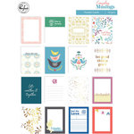 Pinkfresh Studio - Everyday Musings Collection - Pocket Cards with Foil Accents